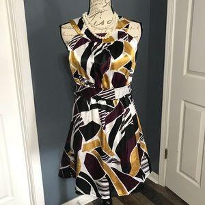 ❤️Cute Silky Sleeveless Dress!